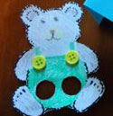 corduroy bear craft