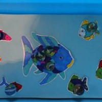 Rainbow Fish Marble Game Craft