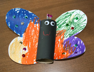 Kids Bug Crafts