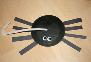 & Paper Plate Spider Craft | All Kids Network