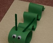 Paper Inchworm Craft for Kids