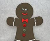 Foam Gingerbread Man Craft