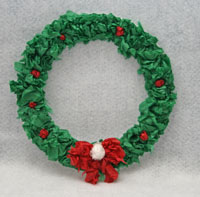 christmas wreath craft