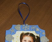 Picture Frame Ornament Craft