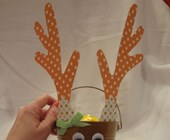 Reindeer Bucket Craft