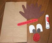 Rudolf the Reindeer Gift Bag Craft