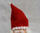 Styrofoam Santa Craft