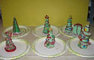 Sugar Cone Christmas Tree Craft