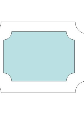 Picture Frame Ornament Template