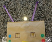 Robot Dress Up Craft