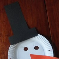 Snowman Dress Up Mask