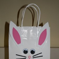 Easter Bunny Bag Craft