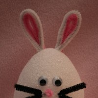 Easter Egg Bunny Craft
