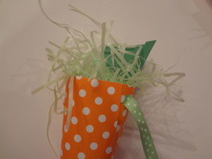easter cones craft step 3