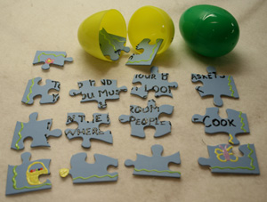 easter egg puzzle game