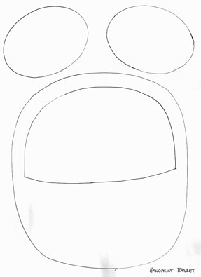 Easter Basket Template