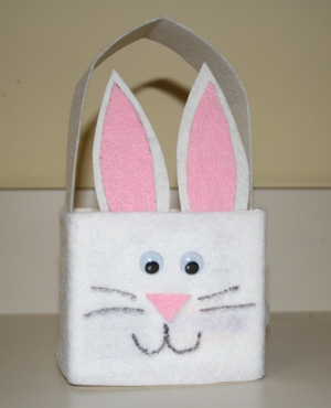 Milk carton easter bunny basket craft all kids network - Easter basket craft ideas ...