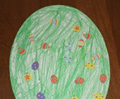 Paper Easter Egg Craft