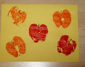 Apple Print Craft