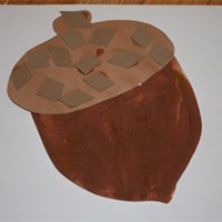 Cinnamon Acorn Craft