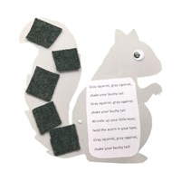 Grey Squirrel Craft