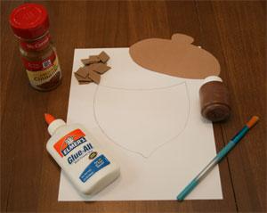 Cinnamon Acorn Craft All Kids Network