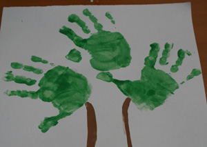 handprint tree craft