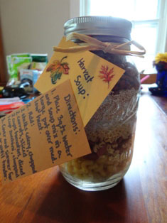 harvest soup mix craft