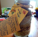 fall harvest soup mix craft