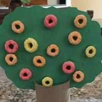 Paper Roll Fall Tree Craft