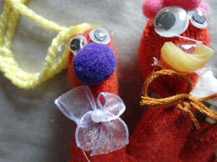 monster puppet craft