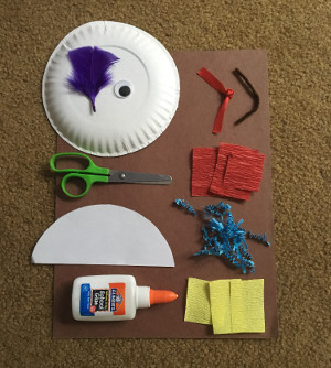 paper plate pirate craft materials