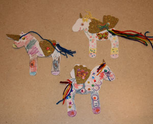kids unicorn craft
