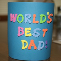 Father's Day Beverage Cooler Craft
