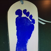 Footprint Bookmark Craft