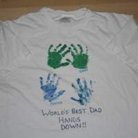 Father's Day Shirt Craft