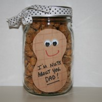 Father's Day Peanut Jar Craft