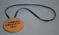 World's Greatest Dad Medal