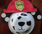Dalmatian Bowl Craft