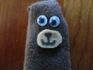 kids finger puppet craft