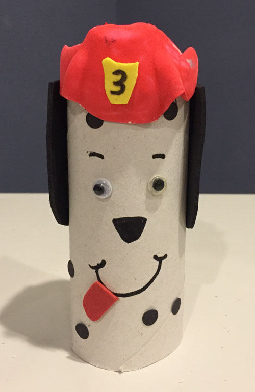 fire safety dalmatian craft
