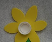 Foam Daffodil Craft