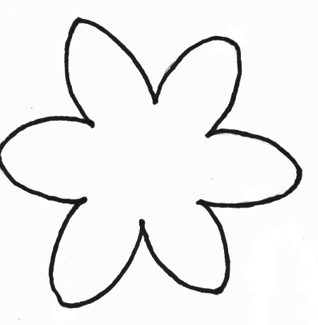 flowers crafts print your foam daffodil craft template all kids