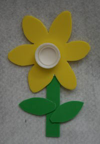 kids daffodil craft