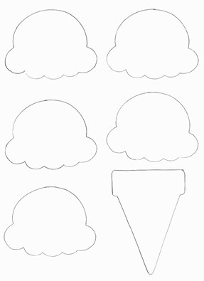 Food crafts print your ice cream cone template all kids network pronofoot35fo Choice Image