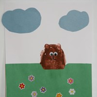 Potato Groundhog's Day Craft
