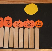 5 Little Pumpkins Craft