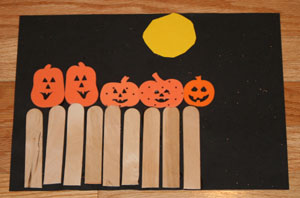 graphic relating to Five Little Pumpkins Sitting on a Gate Printable identified as 5 Tiny Pumpkins Craft All Youngsters Community