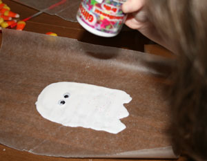 kids ghost craft