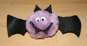 kids bat craft